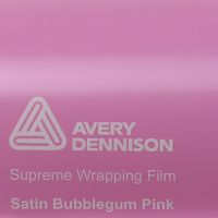 Avery Bubblegum Pink Satin