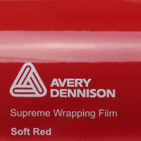 Avery Gloss Soft Red