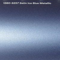 3M S257 Satin Ice Blue Metallic