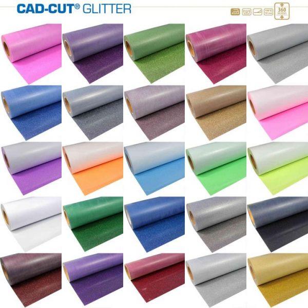 Stahls® CAD-CUT® Glitter Flexfolie 934 White