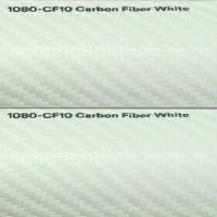 3M Scotchprint 1080 Carbon Fiber White
