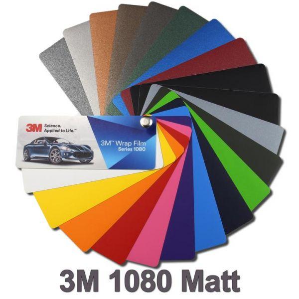 3M Scotchprint 1080 Autofolie Matt weiß