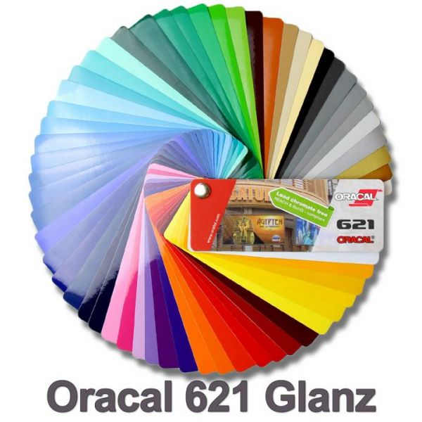 Oracal® 621 Economy Cal Plotterfolie Transparent Glanz
