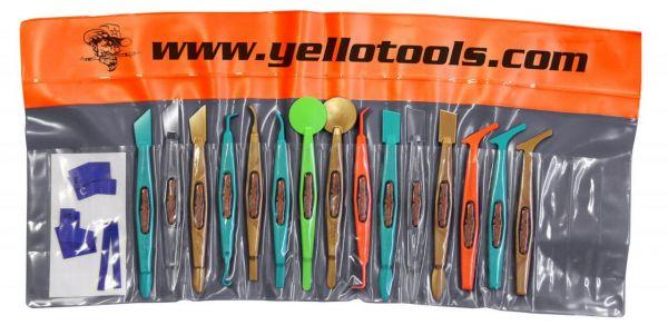 Yellotools WrapStick Set Mini-Rakel-Set für Autofolierungen