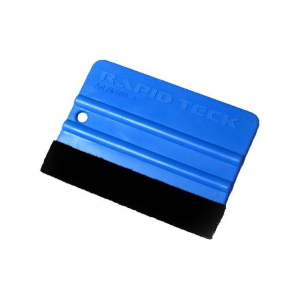 Rapid Teck® Kunststoff Rakel mit Filzkante