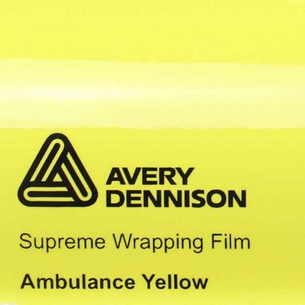 Avery Dennison®  Autofolie Ambulanzgelb Glanz