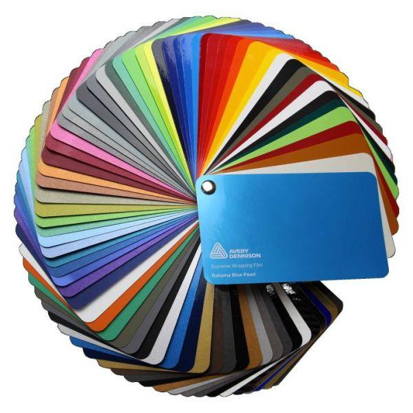 Avery Dennison® Supreme Wrapping Film Farbfächer