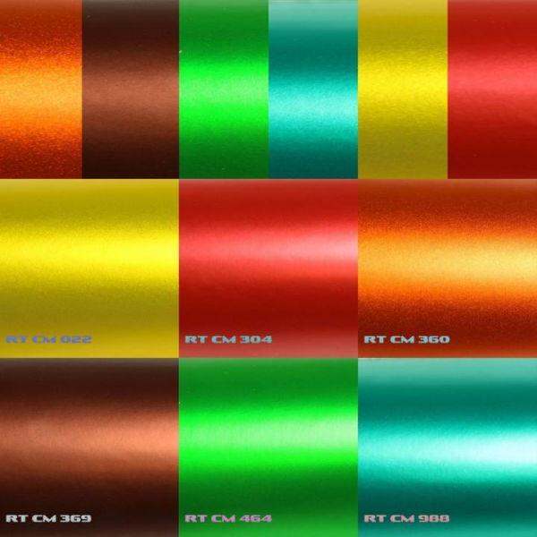 Rapid Teck® Premium Chrom Matt Autofolie Grün