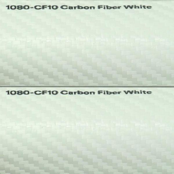 3M Scotchprint 1080 Autofolie Carbonstruktur weiß