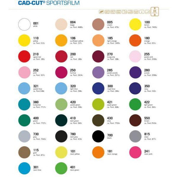 Stahls® CAD-CUT® SportsFilm Flexfolie