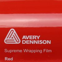Avery Gloss Red