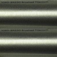 3M BR230 Brushed Titanium