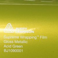 Avery Gloss Acid Green Metallic