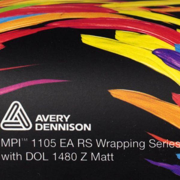 Avery Dennison® DOL 1460 Z Matt Laminierfolie