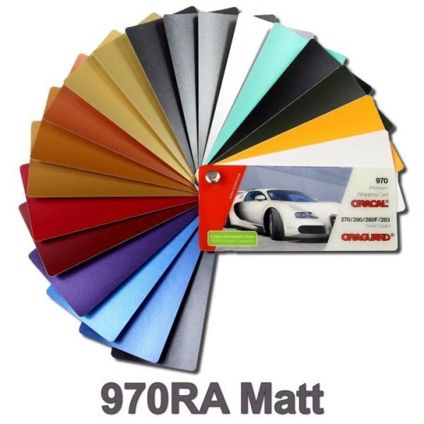 Oracal® 970RA Matt Autofolie Weiß