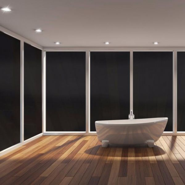 Solar Screen® Verdunkelungsfolie schwarz Opaque Black