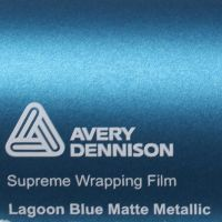 Avery Lagoon Blue Matte Metallic