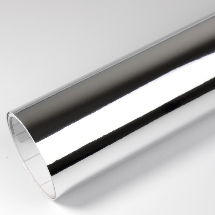 12€//m² Premium Chrom Carbon Folie 3D CARBON CHROM SILBER 100 x 152 cm Autofolie