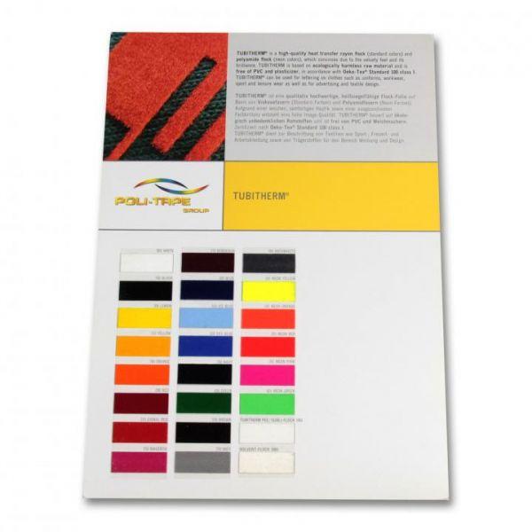 POLI-TAPE TUBITHERM® Textilfolie Farbkarte