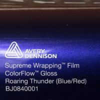Avery CF Gloss Roaring Thunder Blue Red