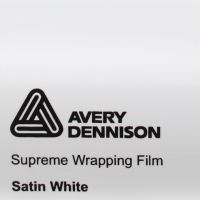 Avery White Satin