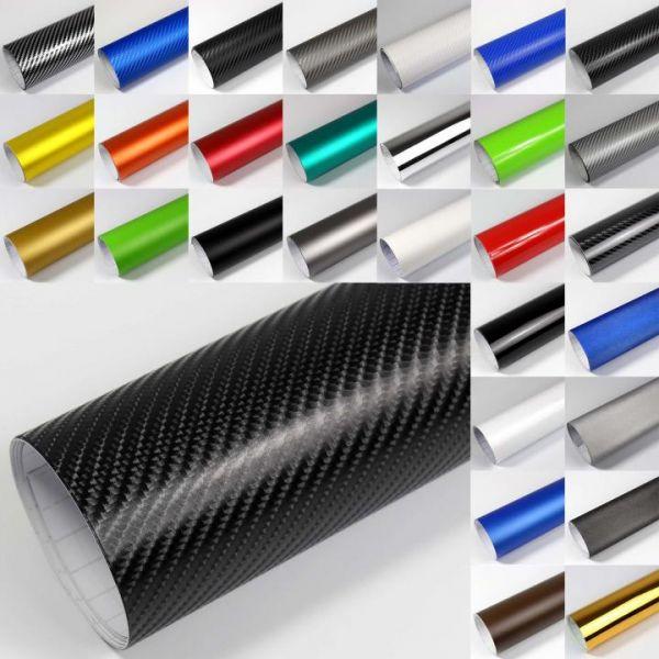 Rapid Teck® 4D Carbon Autofolie Weiß