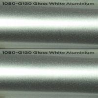 3M G120 Gloss White Aluminium