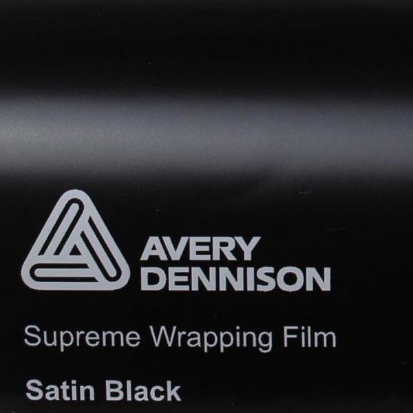 Avery Dennison® Supreme Wrapping Film Satin Black