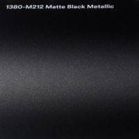 3M M212 Matte Black Metallic