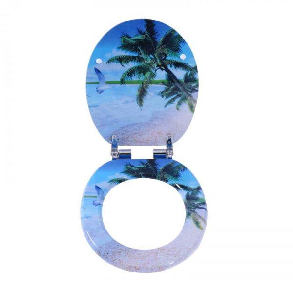 Rapid Teck® Premium Toilettendeckel Palmen