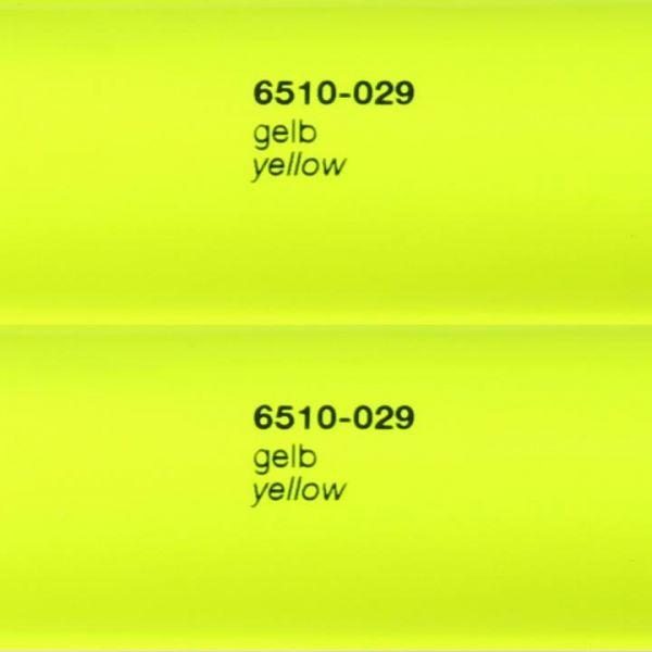 Oracal® 6510 Fluorescent Cast 029 Signal-Gelb