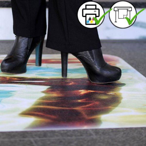 ASLAN DFP 43 Rutschfeste Bodenfolie für Digitaldruck