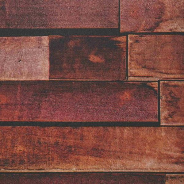 Rapid Teck® Möbelfolie Holzdekor Holzhaus Rot