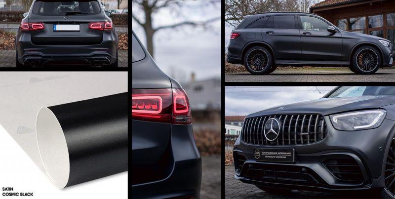 TipTopCarbon 6,57/€//m/² 4D Carbon Folie schwarz BLASENFREI 2m x 1,52m mit Luftkan/äle Autofolie selbstklebend