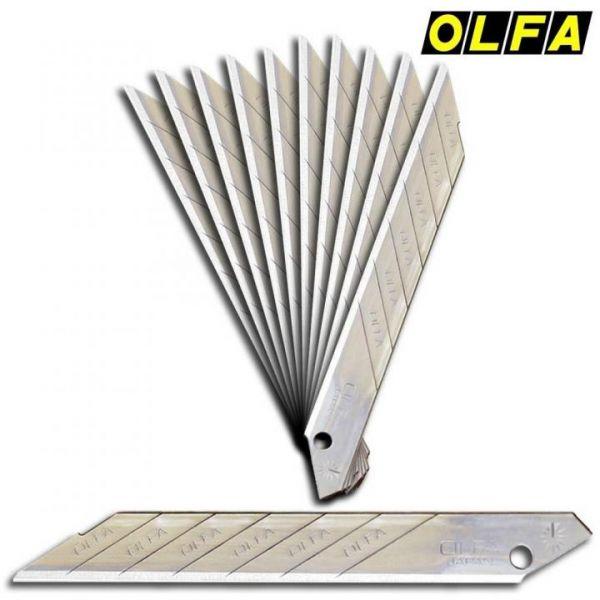 OLFA® SAC-1 30° Ersatzklingen 10er Pack für  Folienmesser / Grafikmesser